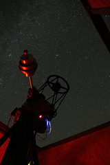 Observing night (Andromeda galaxy right above the telescope) (MiroFedurco) Tags: telescope night astrophoto astrofoto kolonica 2018 stars sky observatory