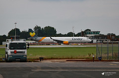 G-TCDR Airbus A.321-211, Condor / Thomas Cook Airlines, Bristol Airport, Lulsgate Bottom, Somerset (Kev Slade Too) Tags: gtcdr airbus a321 condor thomascookairlines taxiwayzulu eggd bristolairport lulsgatebottom somerset