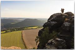 late adventure (lichtauf35) Tags: lilienstein sächsischeschweiz landscape latesun adventure travelpics wide blue sky framed lightroom acdsee augenblick königsstein 2000views lichtauf35