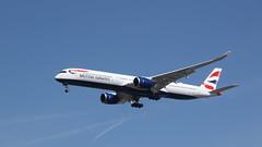 Bravo Alpha (ƒliçkrwåy) Tags: gxwba airbus a350 britishairways airline airliner aircraft lhr egll