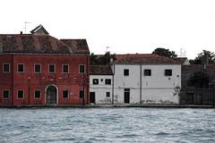 facade (rasolated) Tags: facade elevation venice venezia sea red white