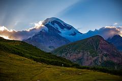Mount Kazbek, Kazbegi, Georgia (CamelKW) Tags: georgia2019 stepantsminda mtskhetamtianeti georgia mountkazbek kazbegi