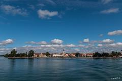 Lindau am Bodensee (wb.fotografie) Tags: deutschland bayern lindau bodensee schifffahrt blau wasser himmel wolken germany bavaria lakeconstance shipping blue water sky clouds