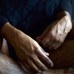 blurryhands (Matter is Spirit) Tags: male hands veins man light shadow fine art artistic handsart