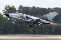 46-55 / German Air Force / Panavia Tornado ECR (Charles Cunliffe) Tags: canon7dmkii aviation montdemarsanairbase lfbm germanairforce gaf luftwaffe panaviatornado panaviatornadoecr 4655