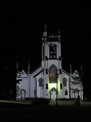 St. John's Anglican Church at night, Lunenburg, Nova Scotia (Paul McClure DC) Tags: lunenburg novascotia canada maritimes june2018 architecture historic church