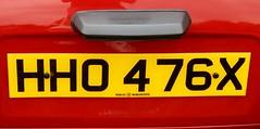HHO 476X (2) (Nivek.Old.Gold) Tags: 1981 austin morris mini city auto 998cc henlys winchester