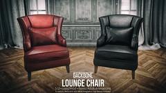 BackBone Lounge Chair (BackBone SL) Tags: lounge leather armchair backbone lapdance