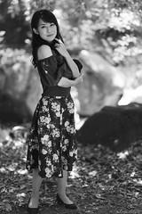 Yuka Sakurano (iLoveLilyD) Tags: gmaster portrait ilce9 a9 gm 屋外 85mm sony mirrorless gmlens felens ilovelilyd bw vscofilm07 合同大撮 kodakplusx125 f14 fullframe 桜野友佳 sel85f14gm α primelens emount α9 2019 japan tokyo 東京都 日本