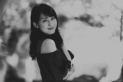 Yuka Sakurano (iLoveLilyD) Tags: gmaster portrait ilce9 a9 gm 屋外 85mm sony mirrorless gmlens felens ilovelilyd bw vscofilm03 合同大撮 fujifp3000bnegative f14 fullframe 桜野友佳 sel85f14gm α primelens emount α9 2019 japan tokyo 東京都 日本