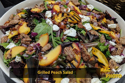 "Grilled Peach Salad • <a style=""font-size:0.8em;"" href=""http://www.flickr.com/photos/159796538@N03/48602644587/"" target=""_blank"">View on Flickr</a>"
