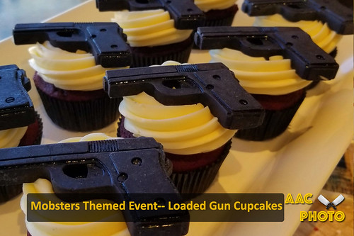 "Gun Cupcakes • <a style=""font-size:0.8em;"" href=""http://www.flickr.com/photos/159796538@N03/48602645007/"" target=""_blank"">View on Flickr</a>"