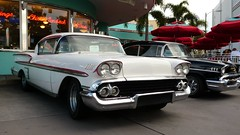 1958 Chevrolet Impala at Universal Orlando_P1060801cws (Wampa-One) Tags: universalorlandoresort universalstudiosflorida orlandofl americangraffiti melsdrivein 1958chevroletimpala