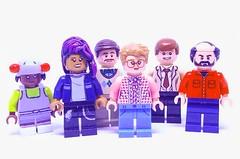Strangers (Barratosh#2) Tags: lego stranger things minifigure netflix erica sinclair 8 kali mr scott clarke barbara barb holland bob newby murray bauman 80s nostalgia