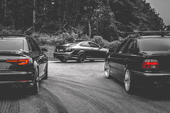 German Trinity (crashmattb) Tags: bmw audi mercedes benz mercedesbenz northgeorgia georgia summer 2018 car automotive mountainrun bmwe39 bmwe39540i e39 540i varrstoenes1 tuned bimmer lightroom automobile carphotography automotivephotography v8 speedhunters canon70d s4 audis4 amg c63 c63amg blackandwhite bw colorselection