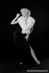 Marilyn... (dgwphotography) Tags: film nikonn90s portrait actress blackandwhite 28105mmf3545d