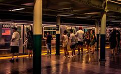 New York (KennardP) Tags: subway newyorksubway train people passenger newyork newyorkcity manhattan canoneosr rf50mmf12lusm canonrflens canonrf50mmf12l lights newyorkcitysubway newyorkcitysubwaystation astorplacestation