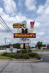 Whiteford's Giant Burger, Laurens, SC