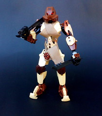Poraru (Revamp) (Pohaturon) Tags: bionicle lego g1 toa selfmoc afol legomoc moc constraction ccbs technic humanoid stone