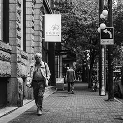 Street of Gastown (Photo Alan) Tags: vancouver canada blackwhite blackandwhite monochrome street streetphotography streetpeople bw vancouverstreet gastown