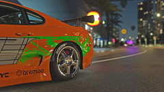 supra 9 (Keischa-Assili) Tags: toyota supra fast furious tuner jdm forza horizon 3 wallpaper screenshot photo 4k uhd orange green vinyl film car