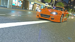 supra 6 (Keischa-Assili) Tags: toyota supra fast furious tuner jdm forza horizon 3 wallpaper screenshot photo 4k uhd orange green vinyl film car