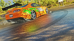 supra 2 (Keischa-Assili) Tags: toyota supra fast furious tuner jdm forza horizon 3 wallpaper screenshot photo 4k uhd orange green vinyl film car