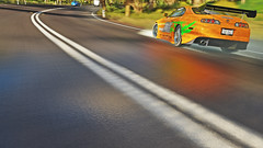 supra 1 (Keischa-Assili) Tags: toyota supra fast furious tuner jdm forza horizon 3 wallpaper screenshot photo 4k uhd orange green vinyl film car