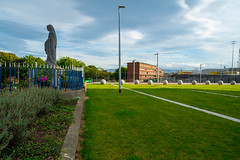 MARIAN STATUE AT THE OLD BROADSTONE STATION [I APPEARS A BIT ISOLATED AT THE MOMENT]-155128 (infomatique) Tags: marianstatue queenofpeace luastramstop broadstone broadstonestation constitutionhill religion williammurphy infomatique fotonique sony a7riii 1224mmlens ireland