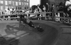 (David Chee) Tags: leica m6 35mm summicron summicronm iv v4 f2 kodak trix 800 hc110 newyork nyc brooklyn williamsburg skateboard skate park domino sugar street rangefinder film analog blackandwhite bw