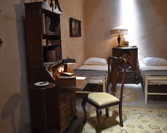 Al Capone's Cell (fotophotow) Tags: philadelphia easternstatepenitentiary