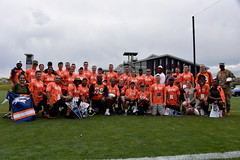 Von with group (U.S. Army Space and Missile Defense Command (SMDC)) Tags: usaa usasmdcarstrat smdc spaceandmissiledefensecommand 1stspacebrigade broncosbootcamp salutetoservice denverbroncos