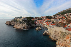 Dubrovnik, Croatia (russ david) Tags: lovrijenac dubrovnik croatia adriatic sea old town balkans architecture grad republika hrvatska republic travel november 2018 sunset fort st lawrence fortress