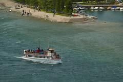 The International (Valley Imagery) Tags: waterton lakes cruise ship historic prince wales lake canada usa peace park sony a99ii 70400gii beach marina tour tourist