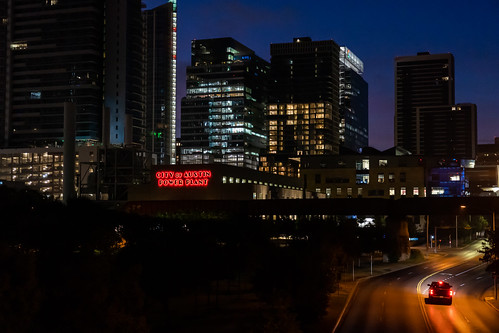 Downtown Austin from Lamar