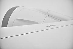 a jet engine (avawoodworth) Tags: industry bw blackandwhite blackwhite monochrome 2019 june plane air cloud