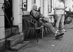 Amsterdam (ksmallon) Tags: portrait candid life netherlands amsterdam people sonya6000 35mm monochrome mono absoluteblackandwhite blackandwhitephotography blackandwhite bnw bw