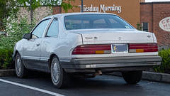 1987 Ford Tempo Coupe (mlokren) Tags: 2019 car spotting photo photography photos pic picture pics pictures pacific northwest pnw pacnw oregon usa vehicle vehicles vehicular automobile automobiles automotive transportation outdoor outdoors fomoco motorcraft 1987 ford tempo 2door coupe two door white
