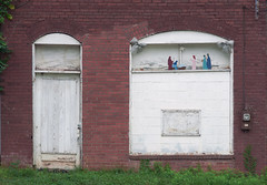 Ghost of Christmas Past (oldoinyo) Tags: architecture old disused nativity door window abandoned northcarolina