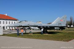 MiG-29 B (9.12) (srkirad) Tags: aircraft airplane jet twinjet military mikoyan gurevich mig mig29 fulcrum aviation museum reptar szolnok hungary russian hungarian sunny travel aviationmuseum