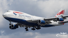 LHR - British Airways Boeing 747-400 F-CIVV (Eyal Zarrad) Tags: b744 britishairways egll gcivv aircraft airport aviation airline airlines aeroplane avion eyal zarrad airplane spotting avgeek spotter airliner airliners dslr flughafen planespotting plane transportation transport photography aeropuerto 2019 canon 7d mk2 jet jetliner lhr uk england london heathrow bedfont myrtle avenue eastchurch 27r 27l landing