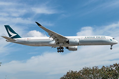 Cathay Pacific - Airbus A350-1041 / B-LXB @ Manila (Miguel Cenon) Tags: cx cxa350 cathaypacific cathay cathaypacifica350 cathaya350 rpll airbus airbusa350 a350 airplane airplanespotting apegroup appgroup airport ppsg planespotting philippines manila nikon naia d3300 rollsroyce rrtrent xwb trentxwb sky fly flying wings twinengine widebody widebodyjet plane clouds window wing twin airbusa35k airbusa3501000 a35k a3501000 blxb
