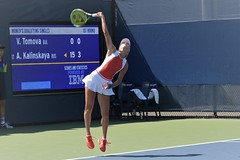 norland d. cruz photography: anna kalinskaya of russia on serve during qualifying day at the us open 2019 in new york (norlandcruz74) Tags: lens nikon zoom gear telephoto nikkor afs dx telefoto d7200 summer ny newyork sports sport major photographer russia august womens player flushingmeadows queens tennis tournament event american filipino russian singles pinoy wta usopen majors grandslam 2019 norlandcruz annakalinskaya 70300mm motion speed high action iso shutter serve shutterbug onserve