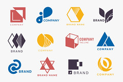 Corporate Logo Designs (Muhammed Abdullwahab) Tags: background badge black blue brand branding business collection colorful company copyspace corporate decorate decoration design designspace element emblem graphic gray icon identity illustrated illustration isolated logo marketing mixed ornament pink red set shape sign style symbol template textspace trademark types vector wallpaper yellow