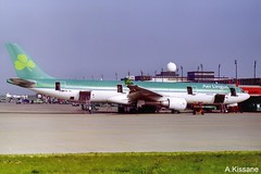 AER LINGUS A330 EI-CRK (Adrian.Kissane) Tags: airline airliner jet plane aircraft airbus aeroplane aviation sky outdoors ramp ireland irish airport 70 2000 a330 eicrk shannonairport shannon aerlingus