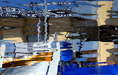 Abstract reflection on water (ᗰᗩᖇᓰᗩ ☼ Xᕮ∩〇Ụ) Tags: canoneos1100d