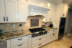 Traditional Kitchen remodel with custom white cabinets, dark cabinetry island and granite countertops in Irvine, Orange County https://www.aplushomeimprovements.com/portfolio_page/orange-county-irvine-complete-kitchen-bathroom-remodel-project70/ (Aplus Interior Design & Remodeling) Tags: backsplash customcabinets california contracting contractors construction countertop custommillwork custom remodel residentialdesign remodeling renovation residentialremodel residence residential reface room