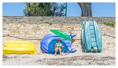 Beachlife... (LukeDaDuke) Tags: sarzeau france lafrance breizh bretagne beach beachlife bateau boat boats lady frankrijk frankreich francia plage laplage