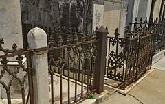 Keeping Out the Living (BKHagar *Kim*) Tags: bkhagar iron ironwork fence fencing cemetery graveyard metal stjoseph neworleans la louisiana hff happyfencefriday