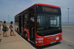 (Sam Tait) Tags: gibraltar uk united kingdom europa point coast man coach bus public transport g9508d